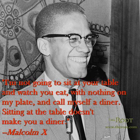 Quote of the Day: Malcolm X on True Equality | Malcolm X | Scoop.it