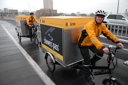 Pedal-powered freight delivery firm partners with Central Eastside food hub - BikePortland.org | Vertical Farm - Food Factory | Scoop.it