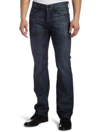-1-  ATA519061M 7 For All Mankind Mens Standard Classic Straight Leg Jean in Dark Blue Black, Dark Blue Black, 36 7 For All Mankind Dark Blue Black | levi's jeans for men on sale | Scoop.it