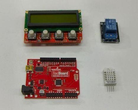 Build a Dual Thermostat for Precise Preset Temperatures | Make | Arduino, Netduino, Rasperry Pi! | Scoop.it