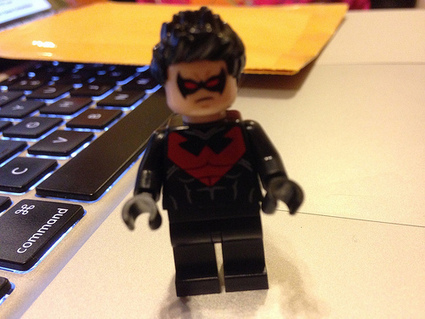 LEGO DC Universe Super Heroes Nightwing Minifigure Found | The Brick Fan | Scoop.it