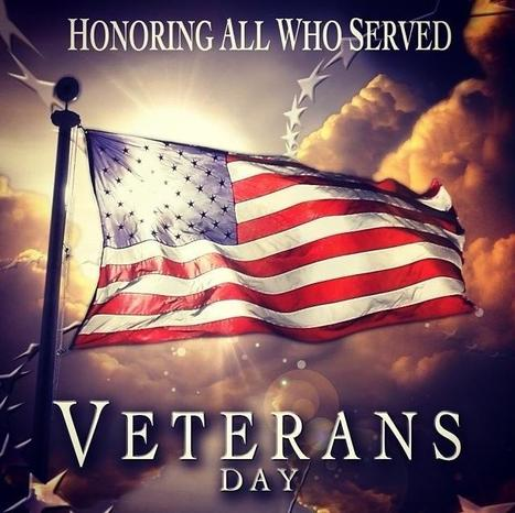Thank you to all our Veterans! We honor you today! #heartwood #happyveteransday | Heartwood | Scoop.it