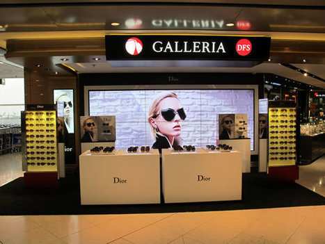 Safilo Group launches Dior promotion with DFS at Hong Kong International - MoodieReport | Eyewear | Scoop.it