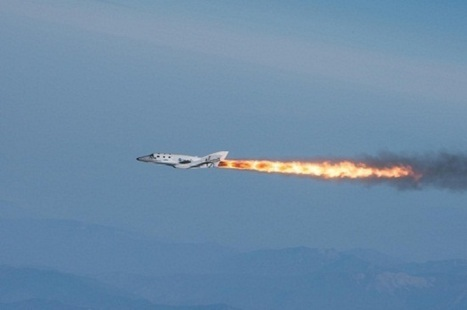 SpaceShipTwo to Fly Under Power on Thursday | Parabolic Arc | The NewSpace Daily | Scoop.it