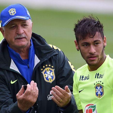 Luiz Felipe Scolari and Neymar primed for Brazil World Cup charge | Fifa World Cup Brazil 2014 | Scoop.it