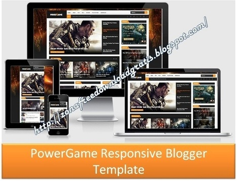 Download PowerGame Responsive Blogger Template 2016 | Blogger themes | Scoop.it