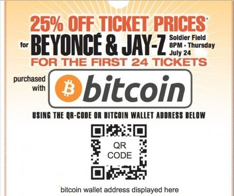 Bitcoin Ads for Beyoncé, Jay-Z Concert Go Live This Week | FREE Bitcoins with GBBG.Bitbillions | Scoop.it