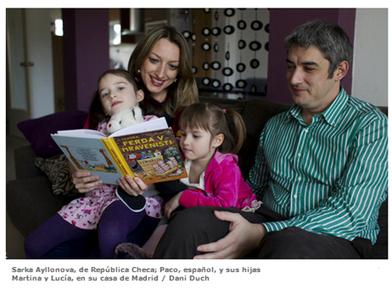 Idiomas que cuentan: familias multilingües | bilingüismo | Scoop.it