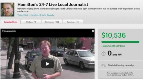 Crowdfunding Journalism: A New Financing Model for Freelancers? | Mediashift | PBS | Peer2Politics | Scoop.it