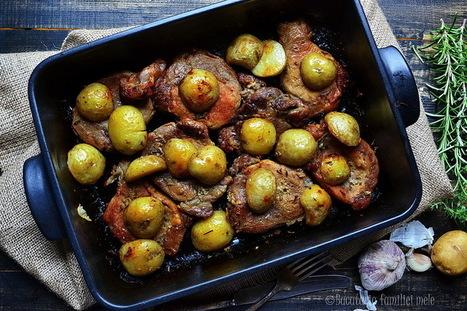 Herbed Pork Blade with Roasted New Potatoes - #Food #Recipe | Foodie | Scoop.it