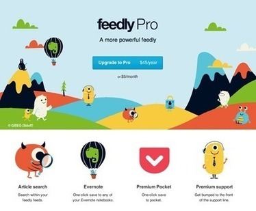 Feedly RSS Service Pro Accounts Now Available | Favorites | Scoop.it
