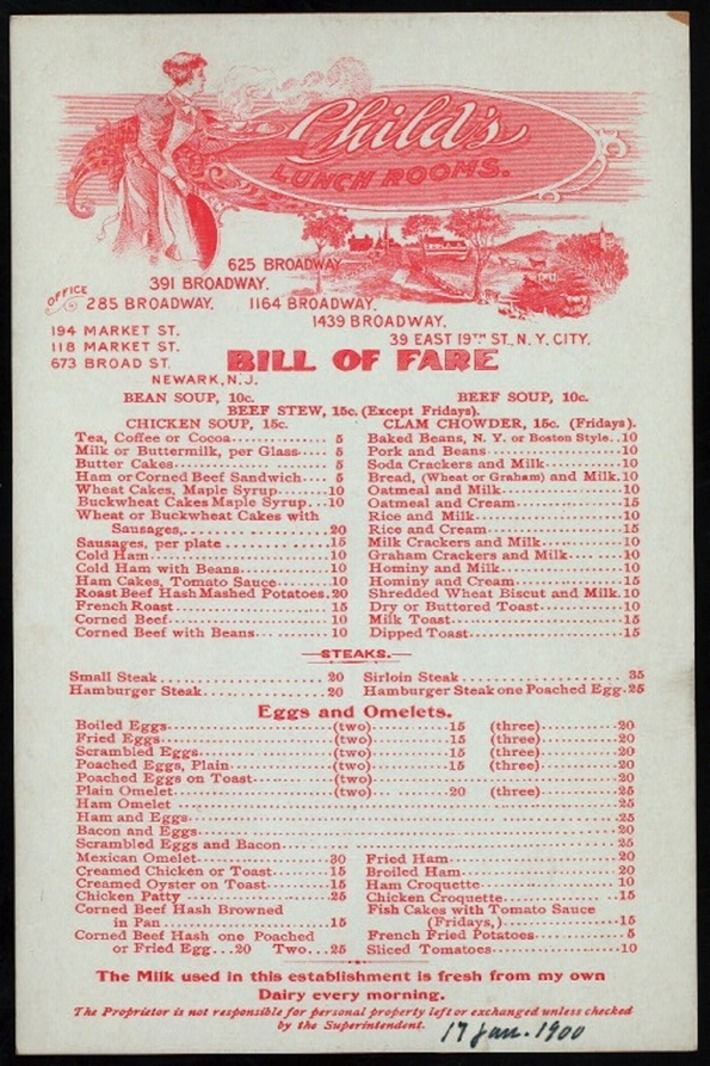 Collecting Vintage Restaurant Menus | Antiques & Vintage Collectibles | Scoop.it