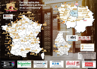 Cartographie des Data Centers en France et au Luxembourg - édition 2015 | Cartographie culturelle | Scoop.it
