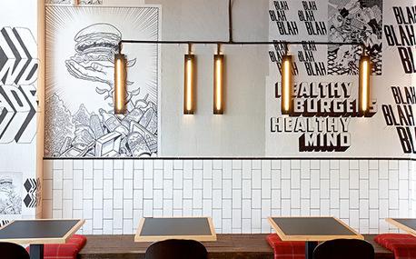 Identité graphique pour un restaurant de burgers - Blogs decoration,...   Décoration: hôtels & restaurants   Scoop.it