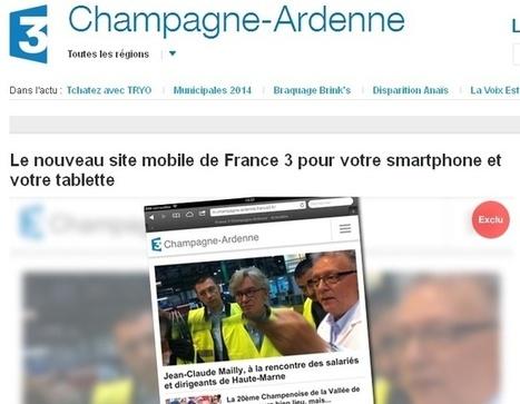 France 3 lance des sites régionaux pour smartphones et tablettes | Les médias face à leur destin | Scoop.it