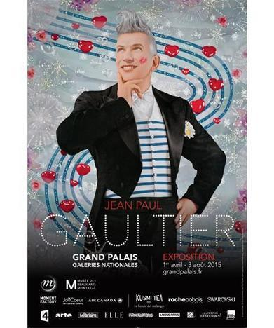 Grand Palais | Jean Paul Gaultier | design exhibitions | Scoop.it