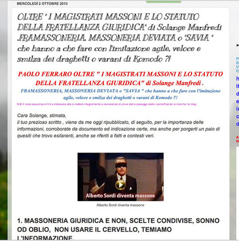 CDD 4 Comitato Difendiamo la Democrazia : *NEW*. IL TRUMAN SHOW CHE INCHIODA TUTTI MENO IL DESTINATARIO CHE LO HA SUBITO. ROSEMARY'S BABY POLANSKY LA BORGHESIA DEVIATA E SATANISTA IL QUARTIERE MONT... | CDD VIDEO CONFERENZE INTERVISTE AUDIO E PROVE GRANDEDISCOVERY 1,  2 e 3 | Scoop.it