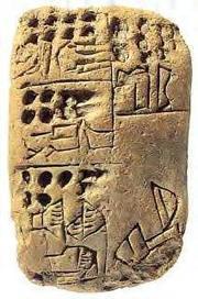 El origen de la escritura cuneiforme: ¿El primer sistema contable..? | Escritura en la Edad del Bronce | Scoop.it
