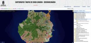 El geoportal de la IDE de Gran Canaria se pasa a software libre