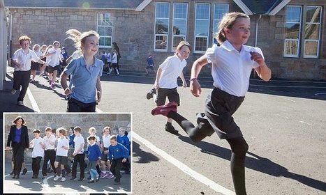 Primary school where the children are made to run a mile every day   Attachment & Trauma   Scoop.it