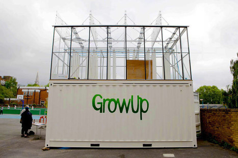 growUP box: an aquaponic shipping container farm | aquaponic | Scoop.it