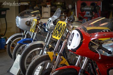 Motorcycle Paradise - The Gary Davis Collection - Dirty Hero   California Flat Track Association (CFTA)   Scoop.it