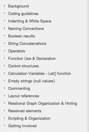 FileMaker Coding Standards | filemakerstandards.org | Filemaker (database use) | Scoop.it