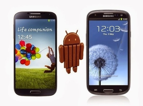 Android 4.4 KitKat Update is Now Available with Samsung Galaxy S4 | Mobisource | News | Scoop.it