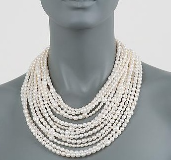 """Ross-Simons -  Multi-Strand Necklace With Sterling Silver Clasp. 18""""   Blingy Fripperies, Shopping, Personal Stuffs, & Wish List   Scoop.it"""