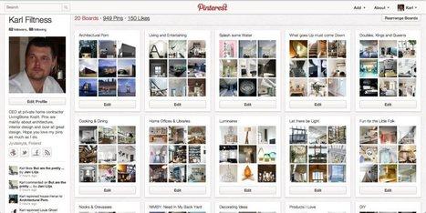 Pinterestin käyttöopas: yleisiä ohjeita, omia kokemuksia ja käyttö markkinoinnissa osa 1 | Poimintoja internetin ja sosiaalisen median virrasta | Scoop.it