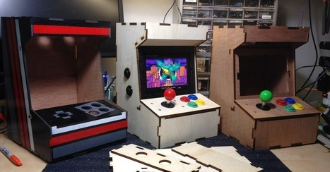 Porta-Pi Cabinet Lets You Take the Classic Arcade Anywhere | Raspberry Pi | Scoop.it