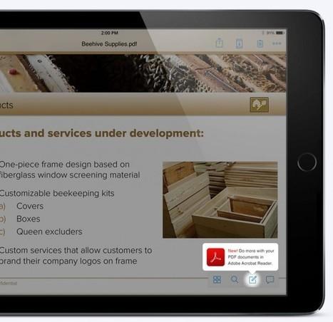 Ya podemos editar PDFs directamente desde Dropbox en iPhone y iPad | Aprendiendoaenseñar | Scoop.it