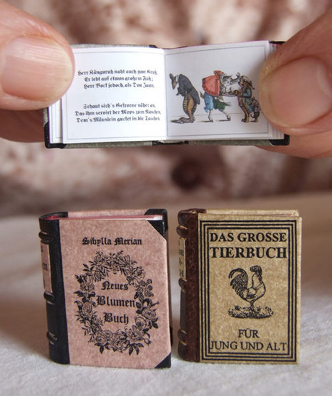 The World's Smallest Library #art #library #books #mini #cute | Hitchhiker | Scoop.it
