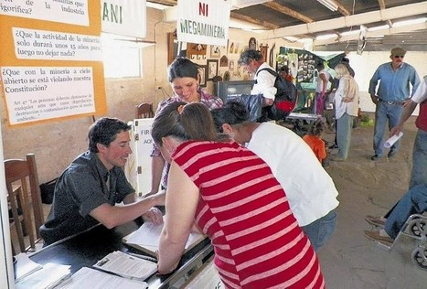Uruguay / Tacuarembó/ Treinta y Tres/ Reunieron 3.500 firmas contra la megaminería   MOVUS   Scoop.it