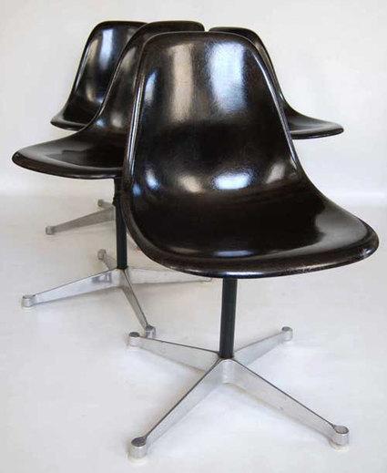 Vintage Eames Set of Chairs | QuiteQuainte | Scoop.it