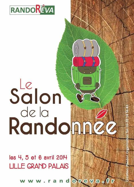 Veille info tourisme - RandoRêva, Le Salon de la Randonnée à Lille Grand Palais | Tourisme + | Scoop.it