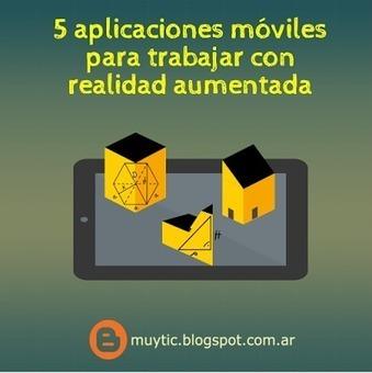 5 aplicaciones móviles para trabajar con realidad aumentada | Tablets na educação | Scoop.it
