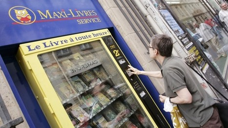 Novel idea: Book lending library the latest in string of weird vending machines | innovative libraries | Scoop.it
