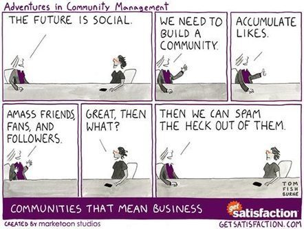 Social Marketing, A How Not To Guide | Community Management Around the Web | Scoop.it
