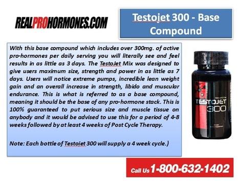 Testojet 300 At Realprohormones.com | Real Prohormones | Scoop.it