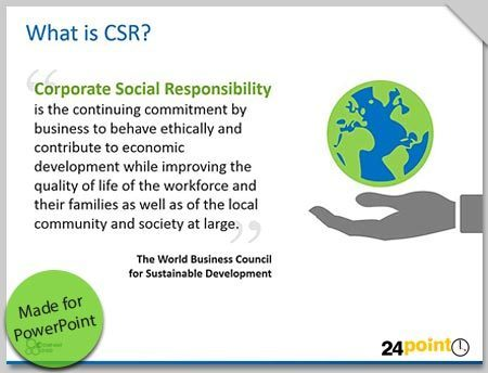 Present Corporate Social Responsibility Strategy using Editable PowerPoint Slides | Design Better PowerPoint Presentations | Scoop.it