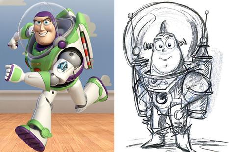 Les concept art de personnages célèbres du cinéma | Aucoindujour | Scoop.it