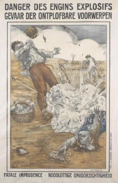 « Pays de ferraille et d'os » : comment la population belge participa à la dépollution du sol | Paysages en Bataille | Rhit Genealogie | Scoop.it