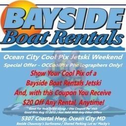 Ocean City Cool Pix Mini-Challenge JetSki Weekend | Ocean City Cool Pix Challenges | Scoop.it