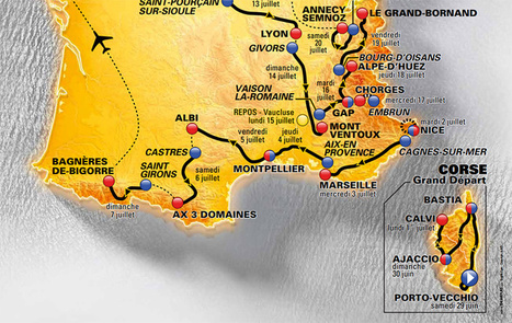 PACA : le Tour de France et MP 2013 vont booster la fréquentation estivale | Tourisme PACA | Scoop.it