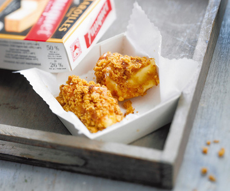 Maroilles pané au pain d'épices   The Voice of Cheese   Scoop.it