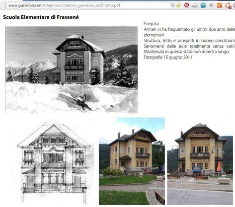 Ohannés Gurekian - Un architetto armeno nelle dolomiti   1902 - 1984   Dolomiti di ieri e di oggi   Scoop.it