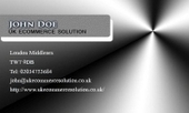 Business card template Heroic | Cheap Business Cards | UK Ecommerce Software Solutions | Online Shopping cart | Scoop.it