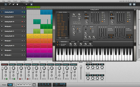 AudioSauna : Full-featured audio workstation for making music online [Chrome] | formation 2.0 | Scoop.it