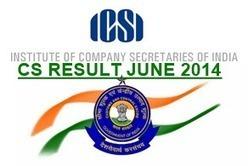 CS Result June 2014 - Company Secretary Results   Exam Results   Scoop.it